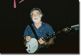 Patsy with the Dubliners live in Vienna, September 2005