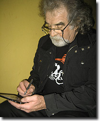 Patsy signing his new album NOW
